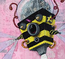 U.S.Bee ~~AmoeBot series by Chris Brett