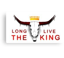 Long Live The King Canvas Print