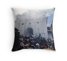 Church of Santo Tomas Throw Pillow
