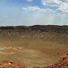 Meteor Crater Arizona  by John  Kapusta