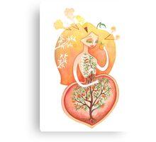 Seedling (Peach Pit)  Canvas Print