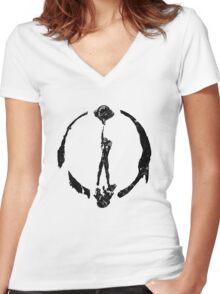 Judgement Day Women's Fitted V-Neck T-Shirt