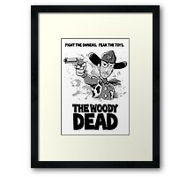The Woody Dead Framed Print