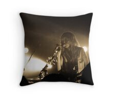 Ladyhawke2 Throw Pillow