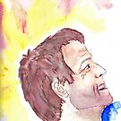 Misha's smile by paperdreamland