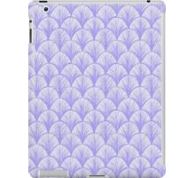 Periwinkle Scallops iPad Case/Skin