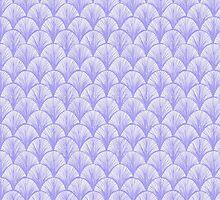 Periwinkle Scallops by Grace Hamann