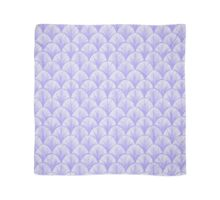 Periwinkle Scallops Scarf