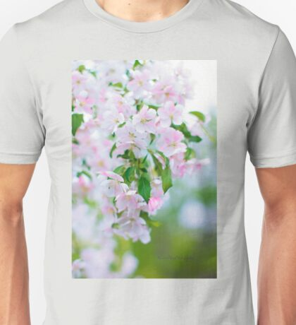 Apple Blossoms Unisex T-Shirt