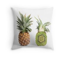 Pineapple or Kiwi Throw Pillow