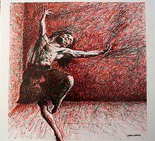 Samson does a jig by Lauren Worsley