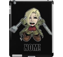 Nom! Amber will eat you iPad Case/Skin