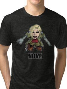 Nom! Amber will eat you Tri-blend T-Shirt