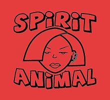 Jane Lane SPIRIT ANIMAL BLACK by mightylesbinaut