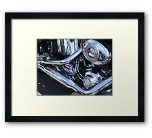 Heavy Metal Reflection Framed Print