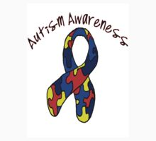 Autism Jigsaw Ribbon Awareness by mrsgerm