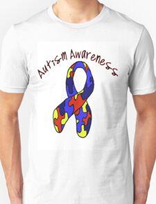 Autism Jigsaw Ribbon Awareness T-Shirt