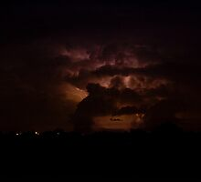 North East Boulder County Lightning by Bo Insogna
