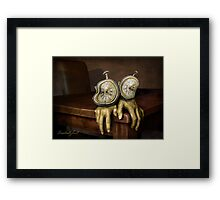 time on your hands Framed Print
