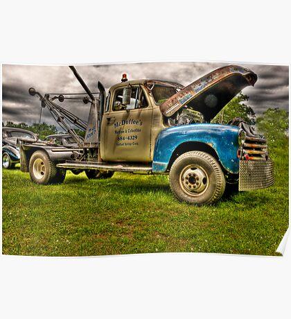 McDuffee's Tow Truck Poster