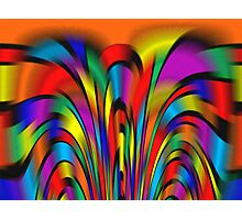 A Colorful Integration  Photographic Print