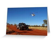 Finke Desert Race 09 Greeting Card