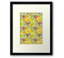 Daffy Daffodil Framed Print