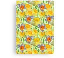 Daffy Daffodil Canvas Print