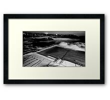 Bondi Pool Framed Print