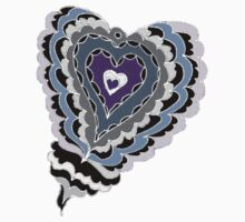 Tiled Heart Tee by KazM