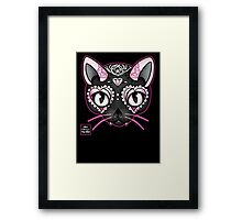 Day of the Kitty PINK Framed Print