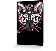Day of the Kitty PINK Greeting Card