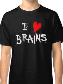 I HEART BRAINS.... Classic T-Shirt