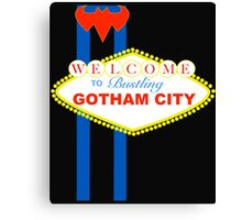 Gotham Vegas Sign Canvas Print
