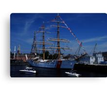Sail Boston- US Coast Guard Canvas Print