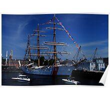 Sail Boston- US Coast Guard Poster