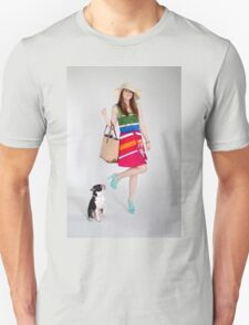 Photoshoot - If You're Happy, Raise a Leg! Unisex T-Shirt