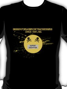 MD5 Hash Support Encryption T-Shirt