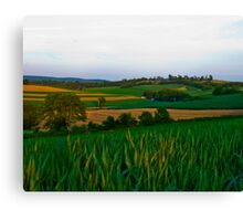 A Scenic Vally View Canvas Print