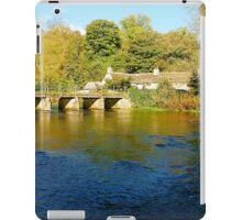River Wye, Monsal Dale iPad Case/Skin