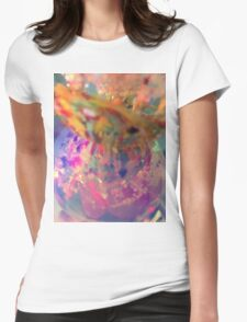 Confetti 1 Womens Fitted T-Shirt