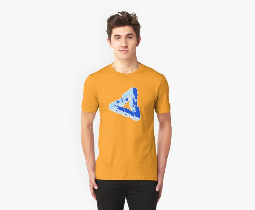 Chain Triangle by Doucey Tees
