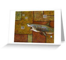 Consumer Shark Greeting Card