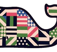 vineyard vines whale FLAGS by quinc3y