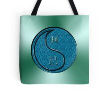 Pisces & Snake Yin Water Tote Bag