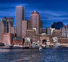 Sail Boston 2009 - city view by LudaNayvelt