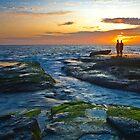 Enjoying The Sunset by photosbyflood