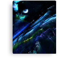 Layers of Space Canvas Print