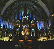 Inside Notre Dame Cathedral by hummingbirds