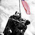 Iwo Jima Monument by Jeff Blanchard